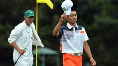 14 Year Old Qualifies for  the Masters' Golf Tournament