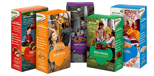 Top 5 Favorite Girl Scout Cookies