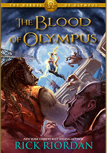 """The Blood of Olympus"" to be Released October 7th"