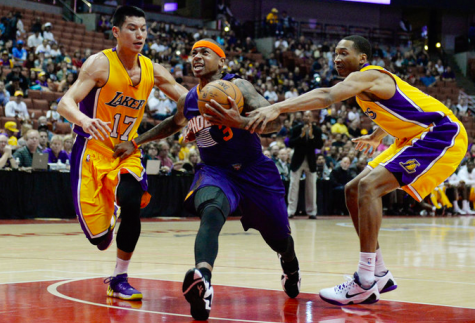 Lakers Lose In Overtime to Suns ; Kobe out for Last 2 Preseason Games