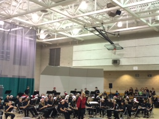 """BYMS Bands Performs to """"Packed House"""" at Winter Concert"""