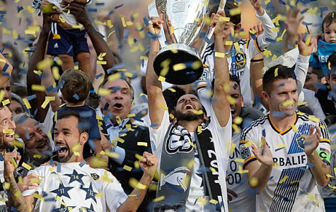 Galaxy Defeats New England to Win Fifth MLS Cup