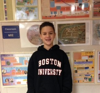 Math Student of the Week: Jacob Griffin