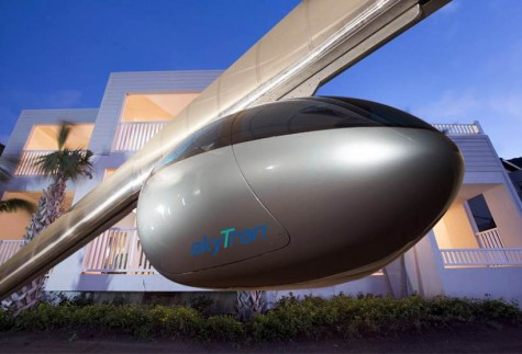 SkyTran's Levitating Pods: a Taxi for the Sky?