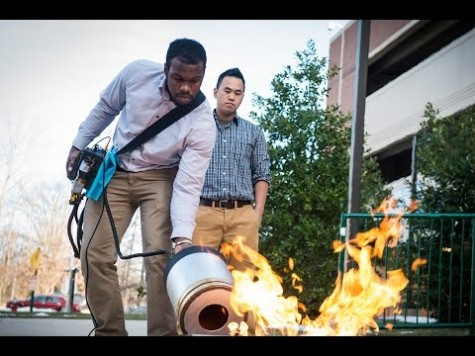 New Fire Extinguisher: Bass Hum Booms Flames Out