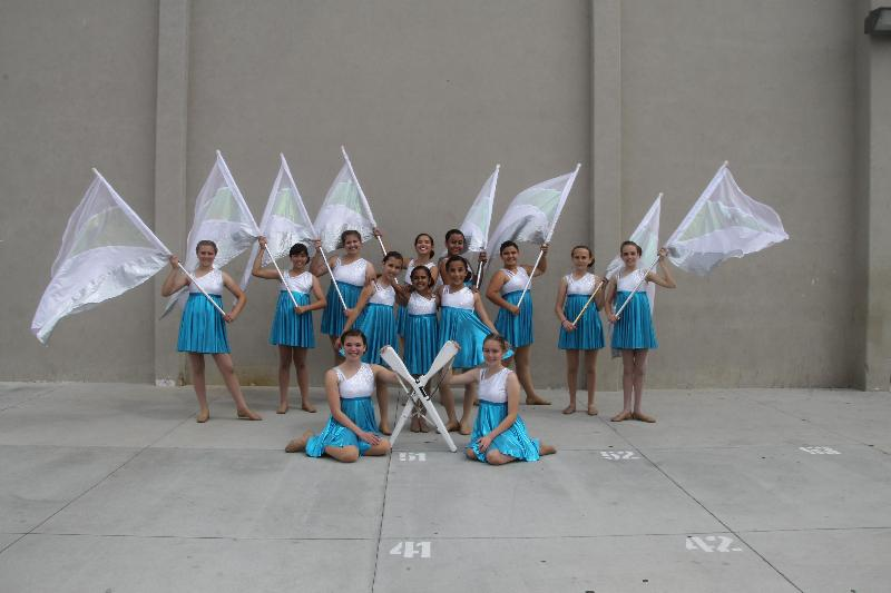BYMS Winter Guard Team Wins First Place at WGASC Championships