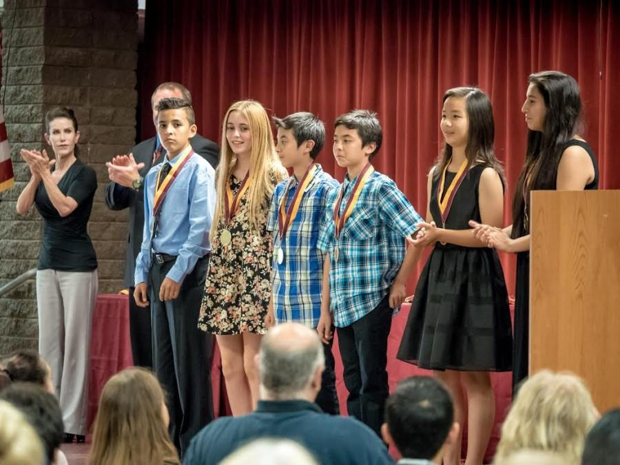 BYMS Students Recognized at Awards Night