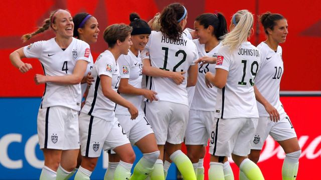 U.S. Women Beat Australia 3-1 In Teams' Opening Match Of World Cup