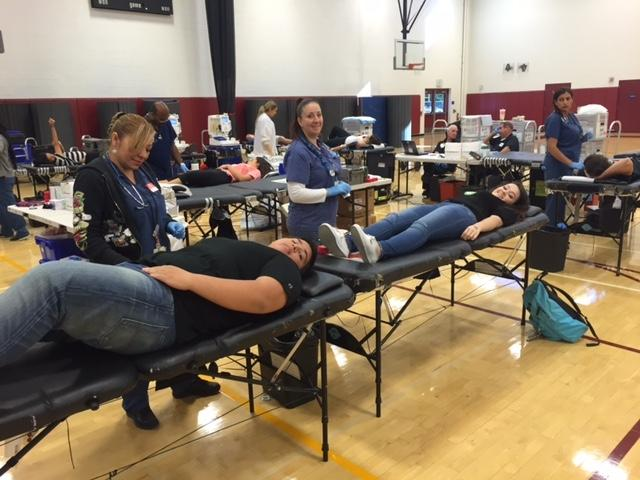 EHS Holds Blood Drive