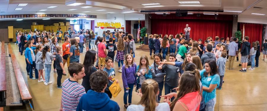BYMS 4 Word Momentum Workshop Inspires Students to Leave Bullying Behind