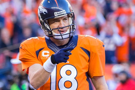Peyton Manning Sidelined by Torn Plantar Fascia