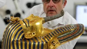 King Tut's Beard Snapped Off