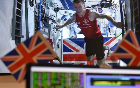 Tim Peake Finishes the Entire London Marathon from Space