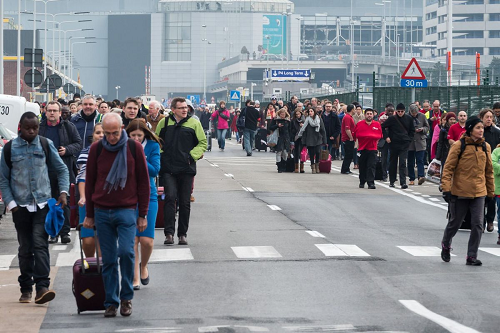 Terrorists Attack Belgium Airport and Subway in Brussels