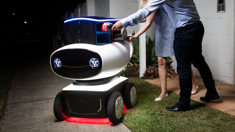 Domino's Testing Pizza Delivery Robot