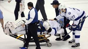 Tampa Bay Lightning Goalie Gets Carried Off Ice During Eastern Conference Finals