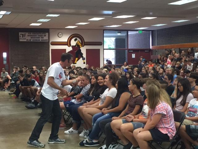 BYMS Hosts First Fundraiser of the School Year