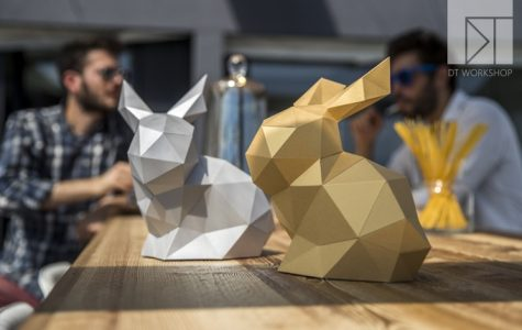Kickstarter of the Week: DT WORKSHOP Creates DIY 3D Papercraft Sculpture
