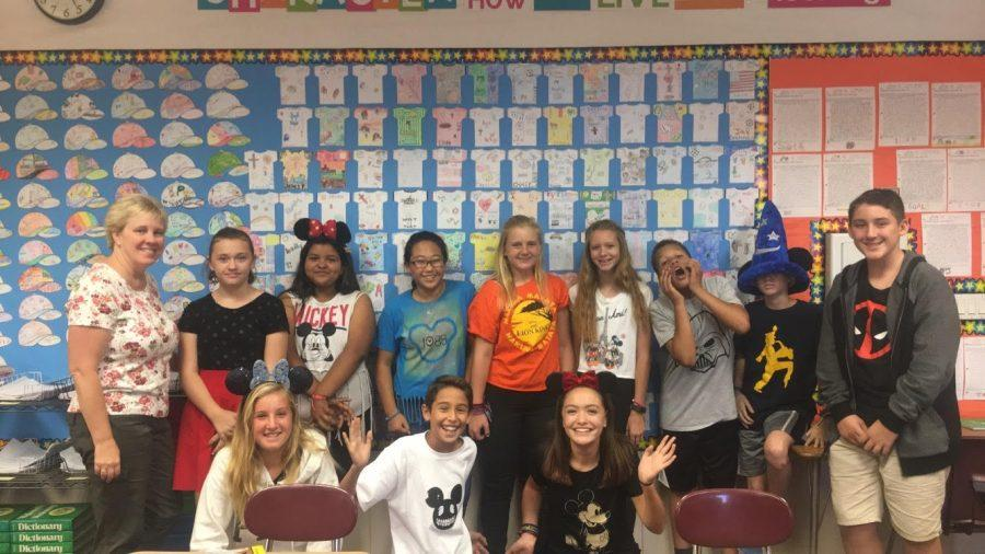 Mrs. Breneman and Mrs. Perez Lead 4th Period Class Competitions
