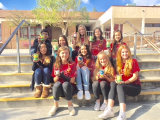 BYMS Helps Donate Canned Food for Second Harvest