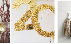 Cheap But Chic: New Year's Day DIY Ideas