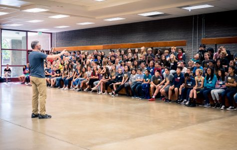 Bernardo Holds Annual Anti-Bullying Assembly for Seventh Graders