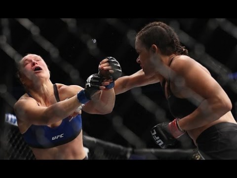 Rousey Knocked out in 48 Seconds during Bantamweight Championship