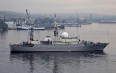 "Russian ""Spy"" Ship Seen near Virginia Coast"
