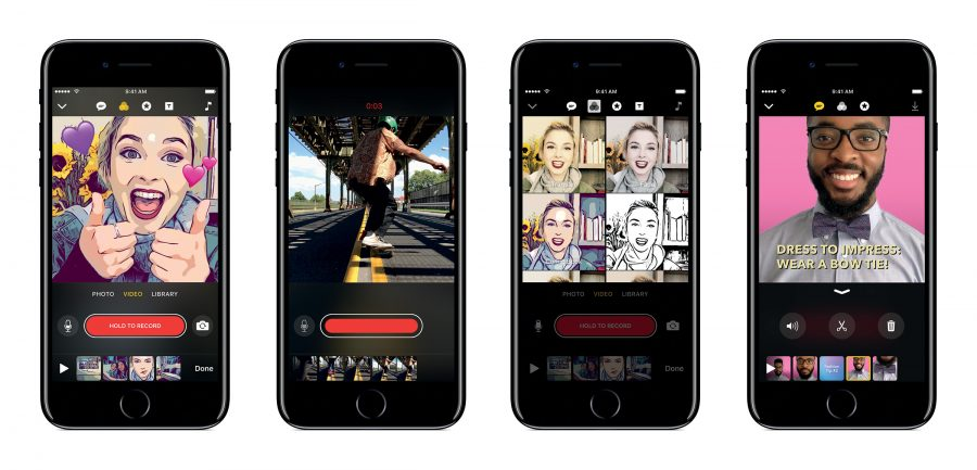 Apple's Clips to Compete With Snapchat and Instagram
