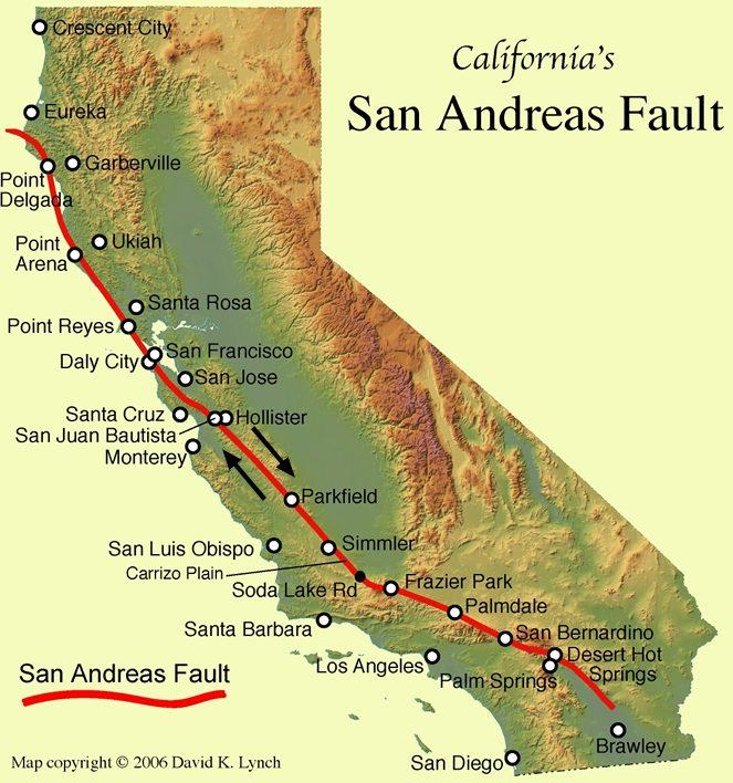 Two Faults in the San Francisco Bay Area Are 'Holding Hands'