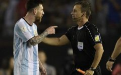 Lionel Messi Banned After Insulting an Assistant Referee