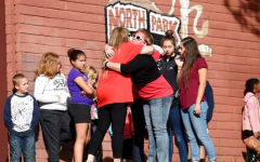North Park Elementary School Students Return One Week After School Shooting