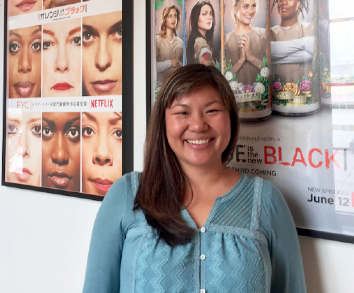 """""""Orange is the New Black"""" is also the Color of Success for Alumni, Heather Jeng Bladt"""