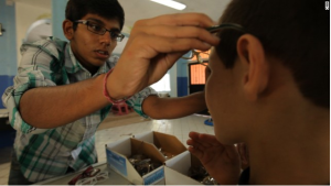 Teen Yasha Gupta Helps Children See More Clearly