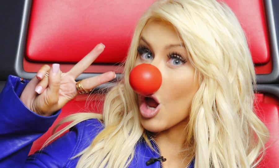 RED NOSE DAY -- Pictured: Christina Aguilera -- (Photo by: Trae Patton/NBC)