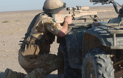 British Sniper Kills 5 Isis Terrorists with 3 Shots