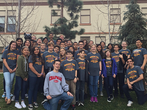 AVID Students Tour to Chapman University