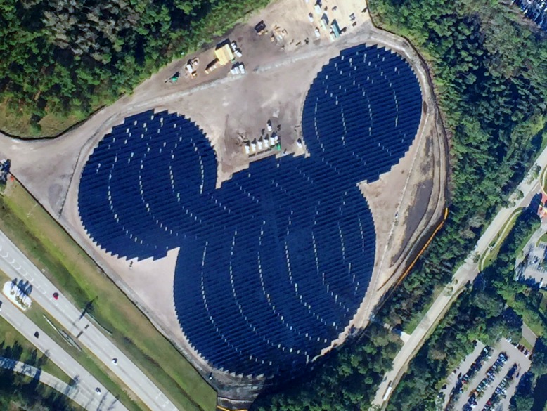 Disney Has A New Solar Farm In Orlando Florida The