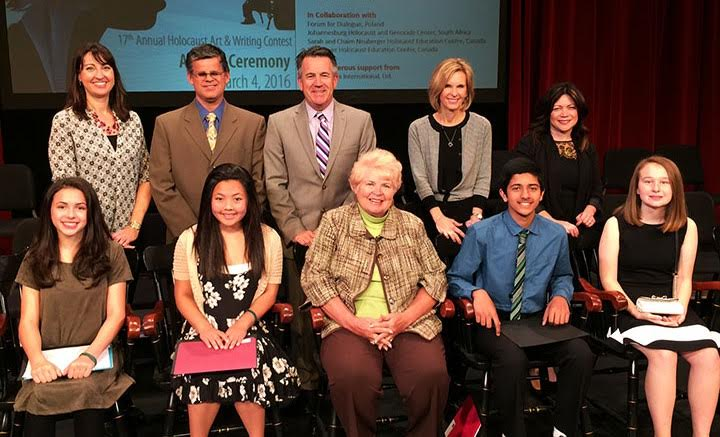 Emily Ito Takes Second Place in Annual Chapman Holocaust Art and Writing Competition