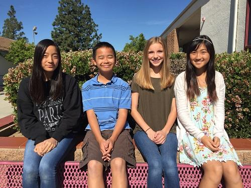 Seventh Graders Elected for 2016-17