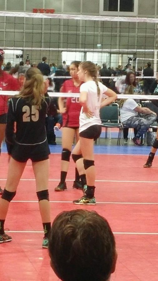 Sara Enright, Eighth Grader at BYMS Trains With US Olympic Volleyball Team