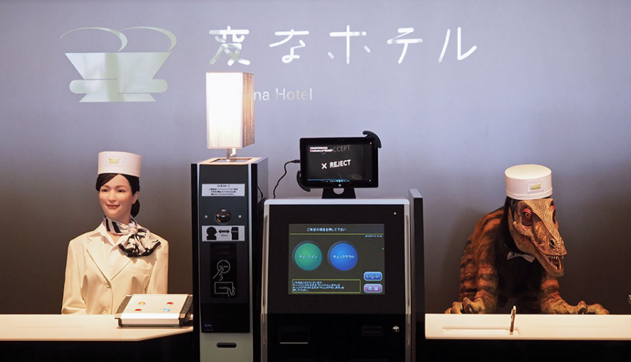 Stay In A Robot Run Hotel In Nagasaki, Japan This Summer