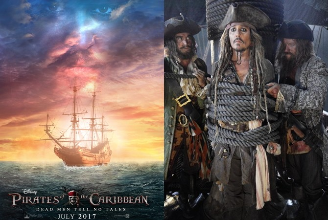 Pirates+of+the+Caribbean+Cast+Works+on+Fifth+Movie