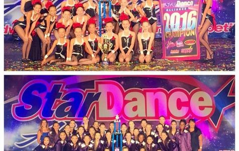 """The Dance Spot"" Awarded National Victory Cup"