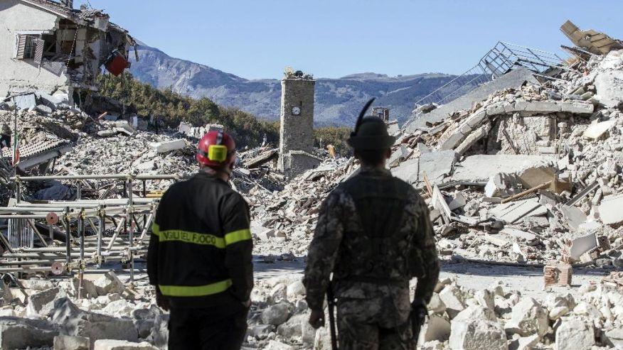 Italy Was Hit by Its Strongest Earthquake