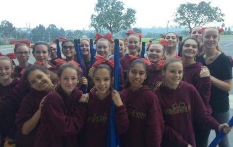 The BYMS Colorguard Had Their First Classification Show of The Year
