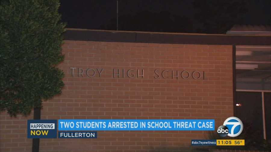 Troy High School Students Arrested for Potential School Shooting
