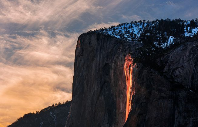 Yosemite%E2%80%99s+Stunning+Firefall+has+Returned+for+Mid-February