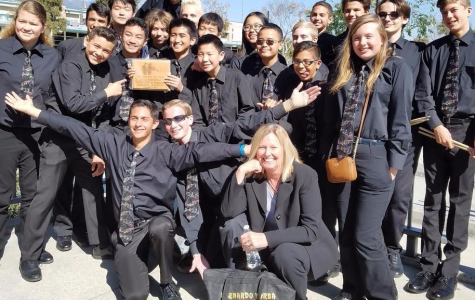 BYMS Jazz Band Takes First Place at Western States Jazz Festival