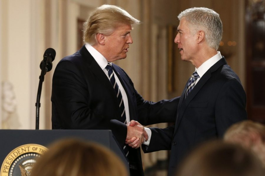 Neil+Gorsuch+Confirmed+as+Justice+of+the+U.S.+Supreme+Court